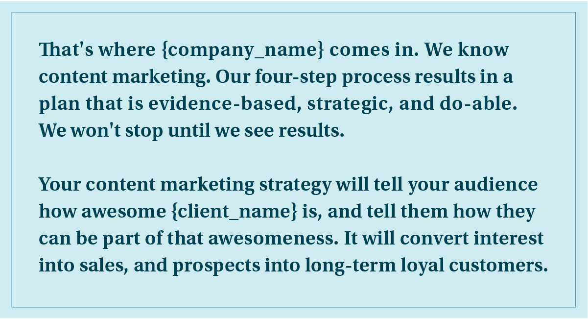 content marketing proposal cover letter example