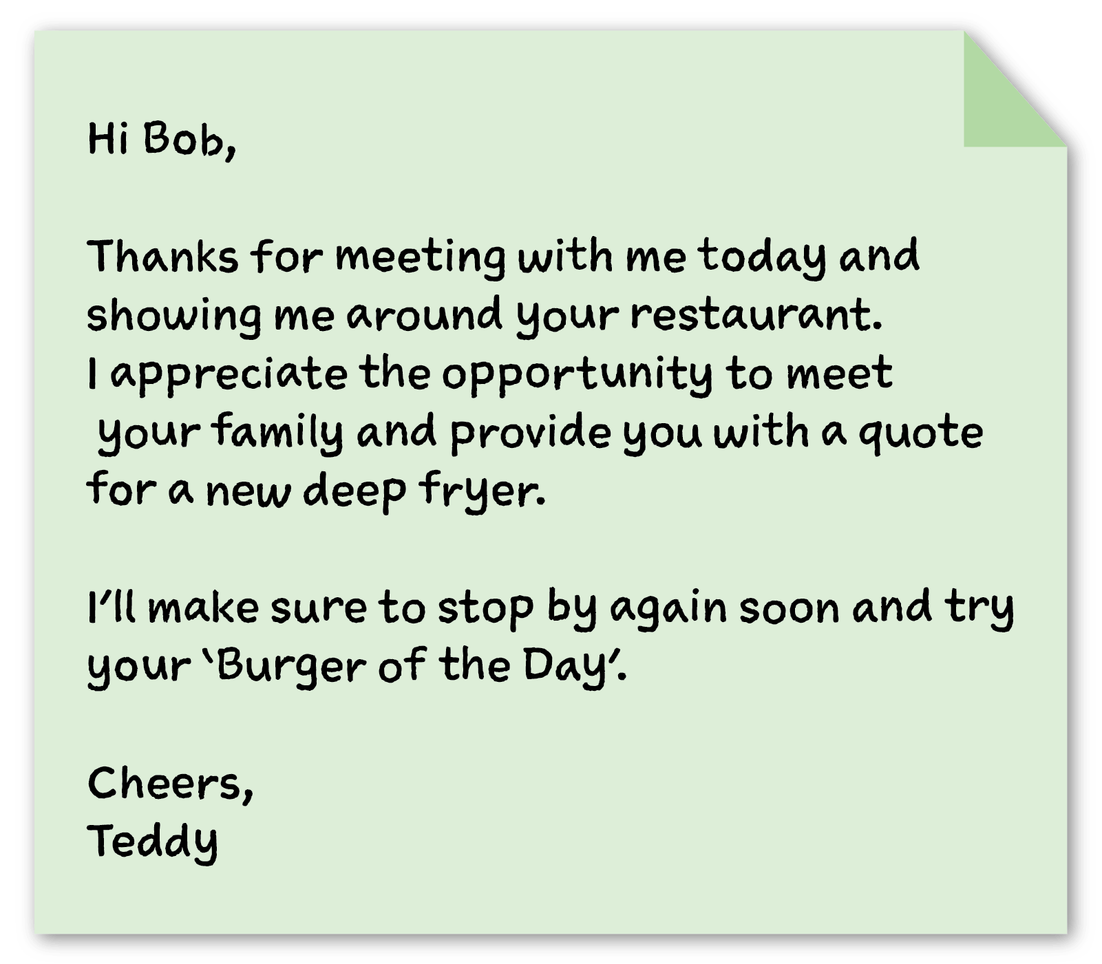 business thank you note example 3