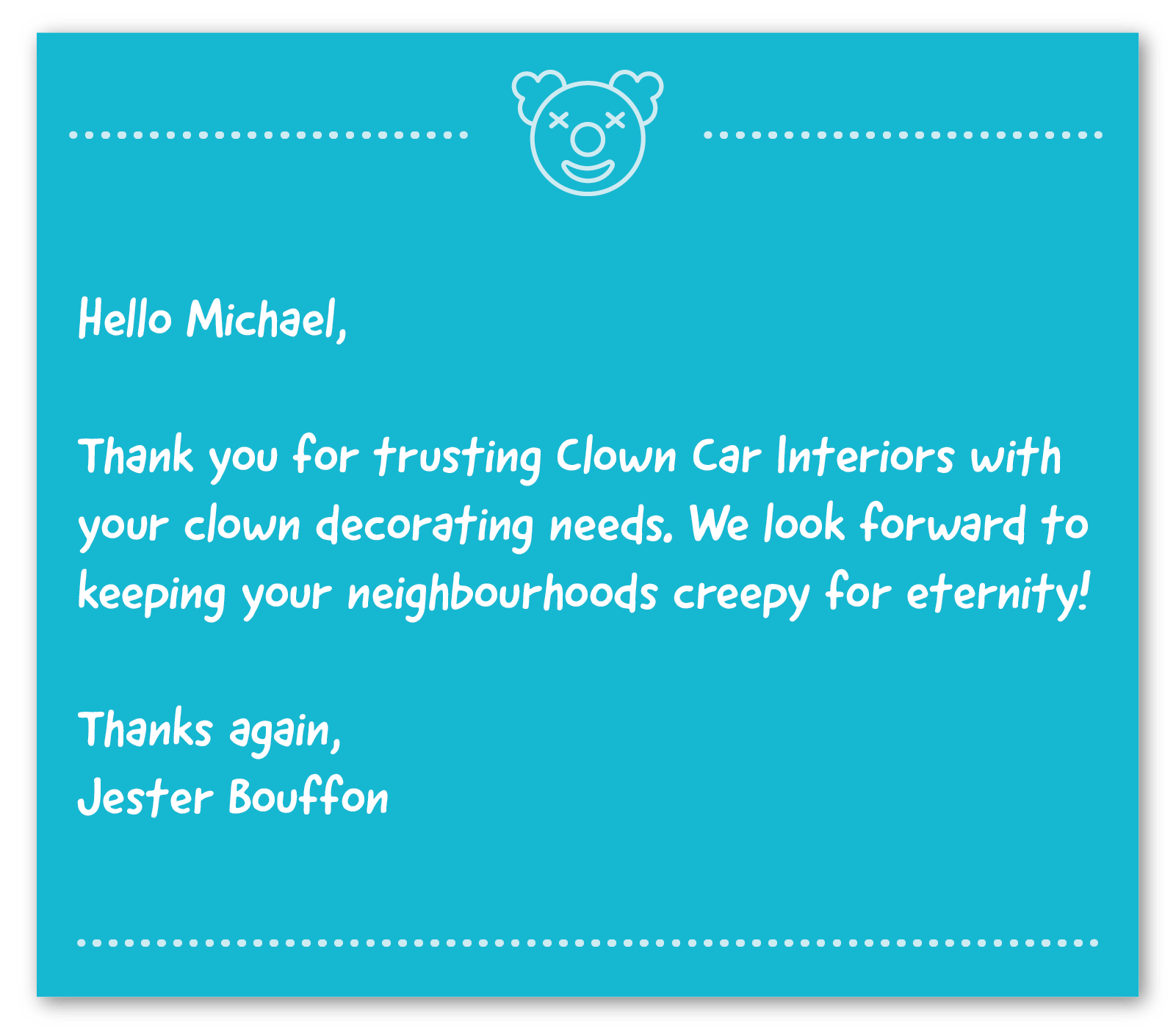 business thank you note example 7