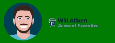 Account Executive Will Aitken