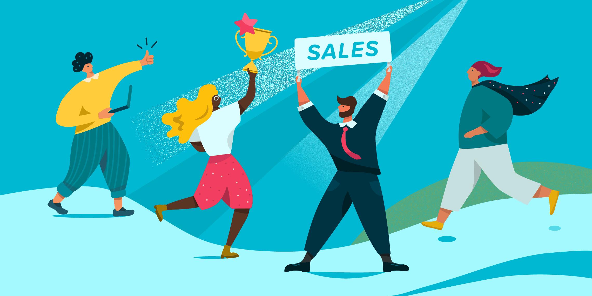 Motivate your sales team