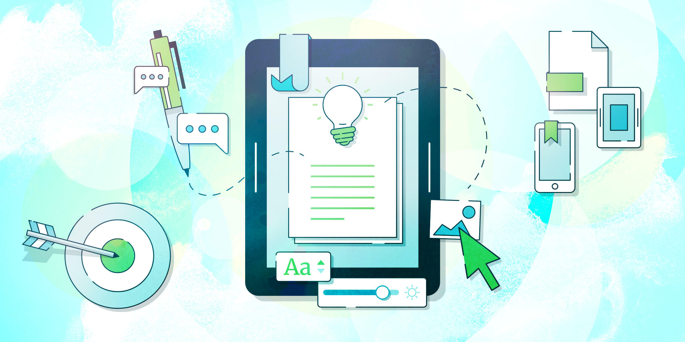 Repurposing content on a tablet to create an eBook that generates leads