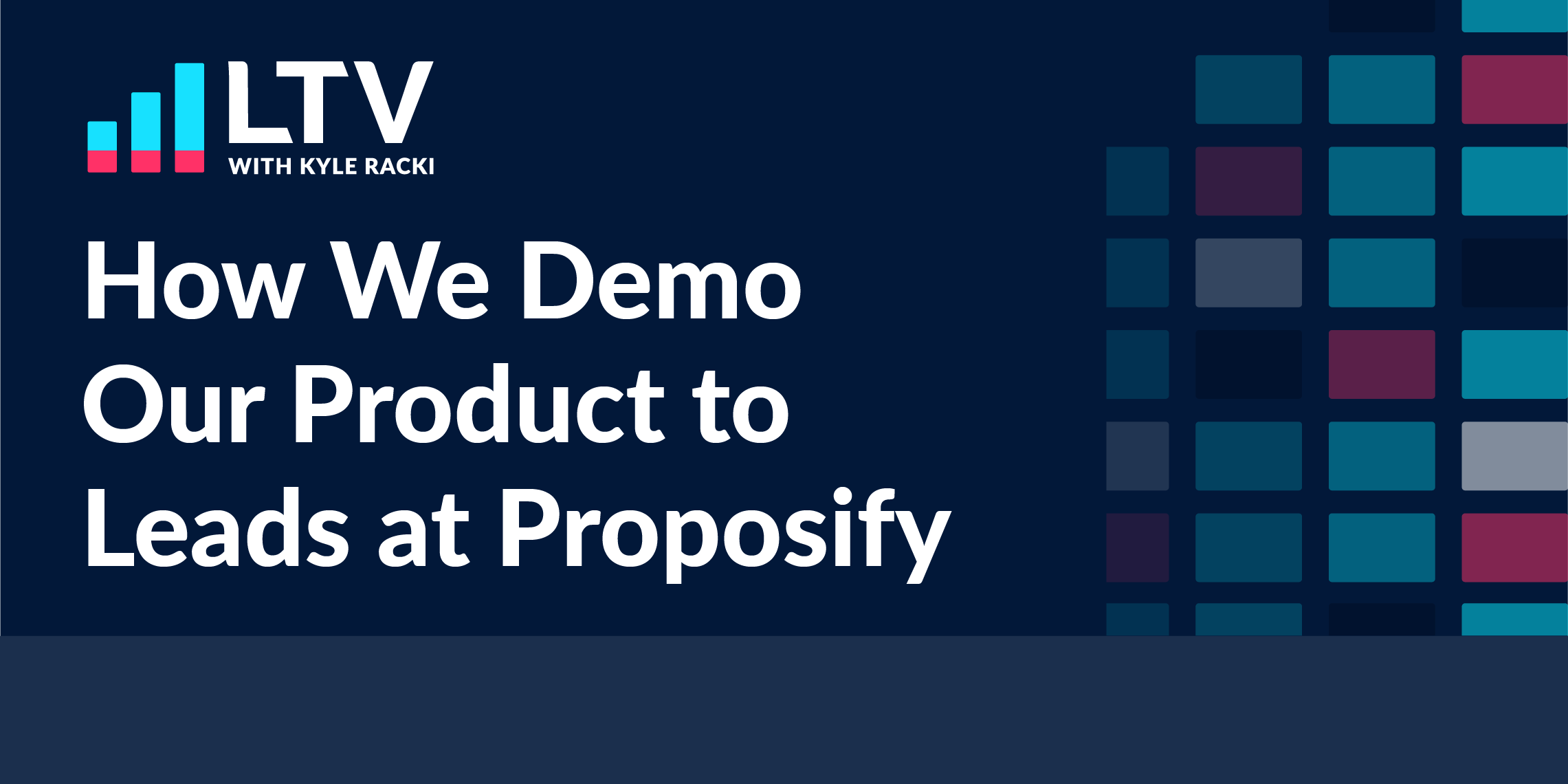 how we demo out  product to leads