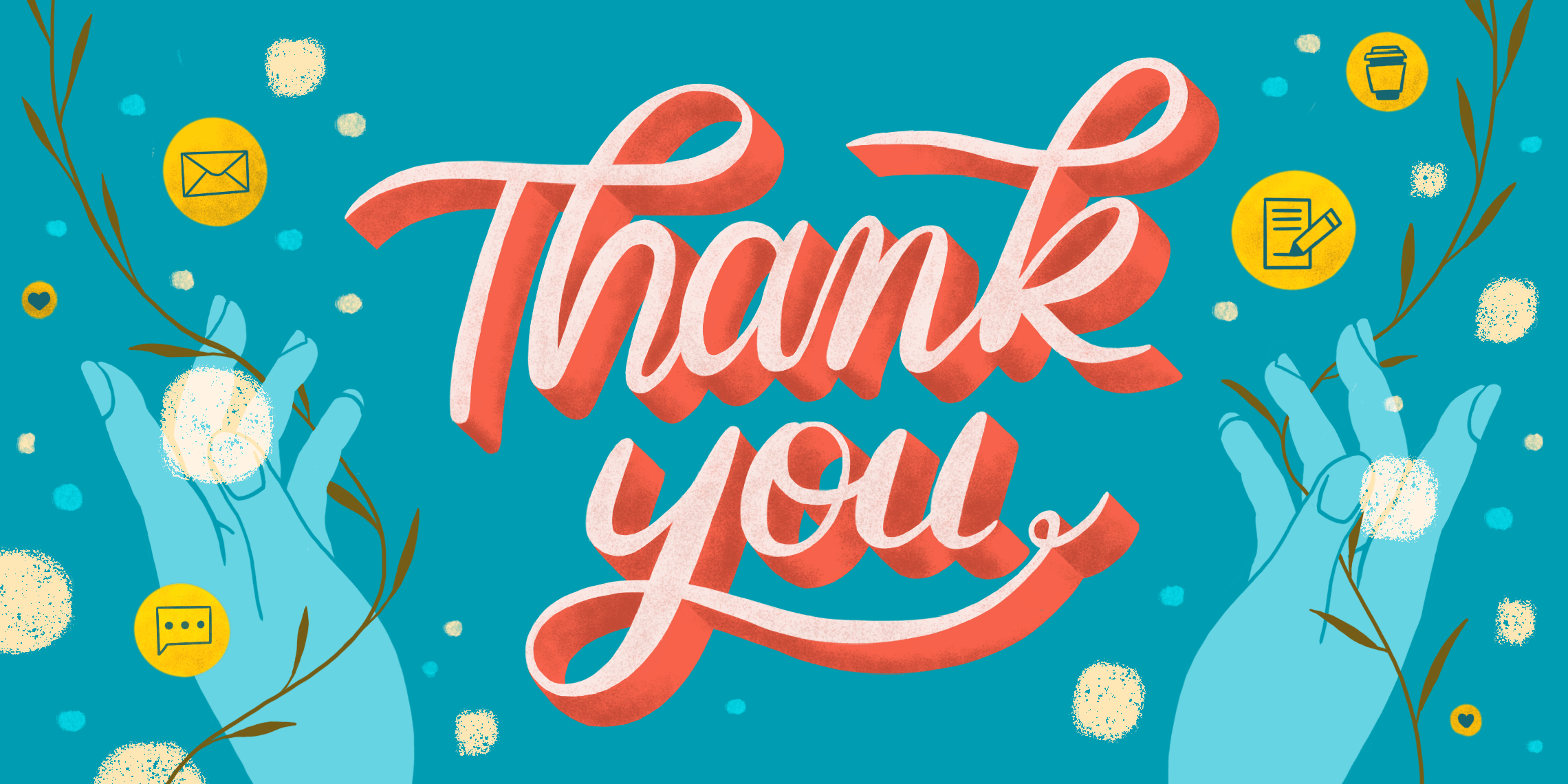 saying thank you in business