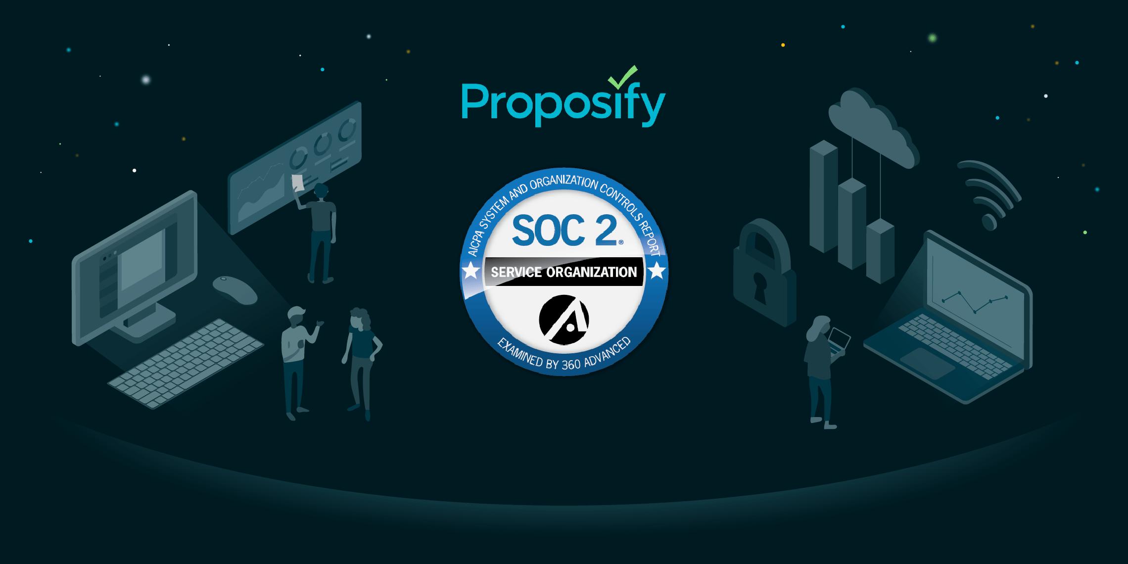 proposify's soc2 compliance announcement
