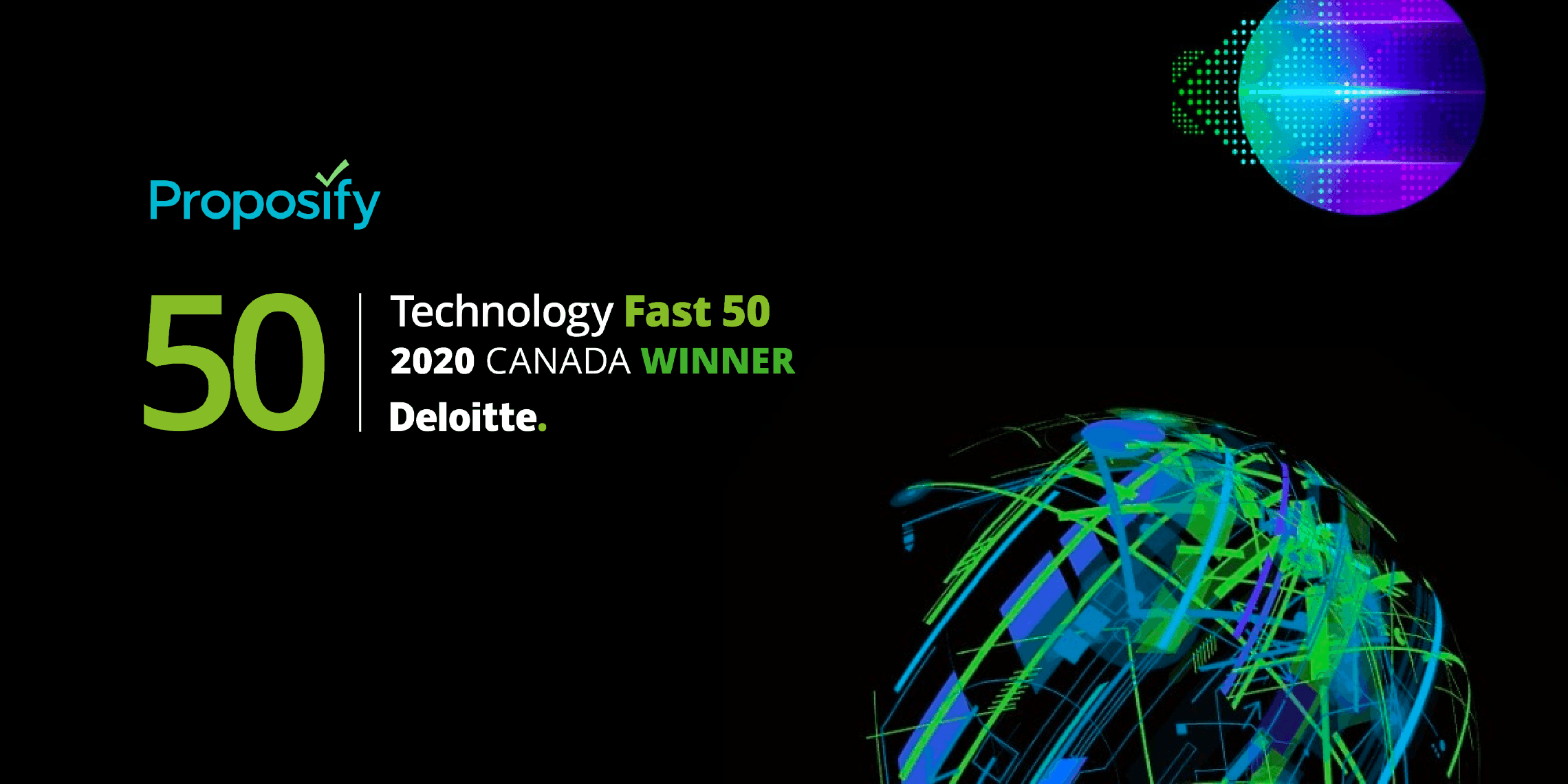 deloitte technology fast 50 2020 proposify announcement