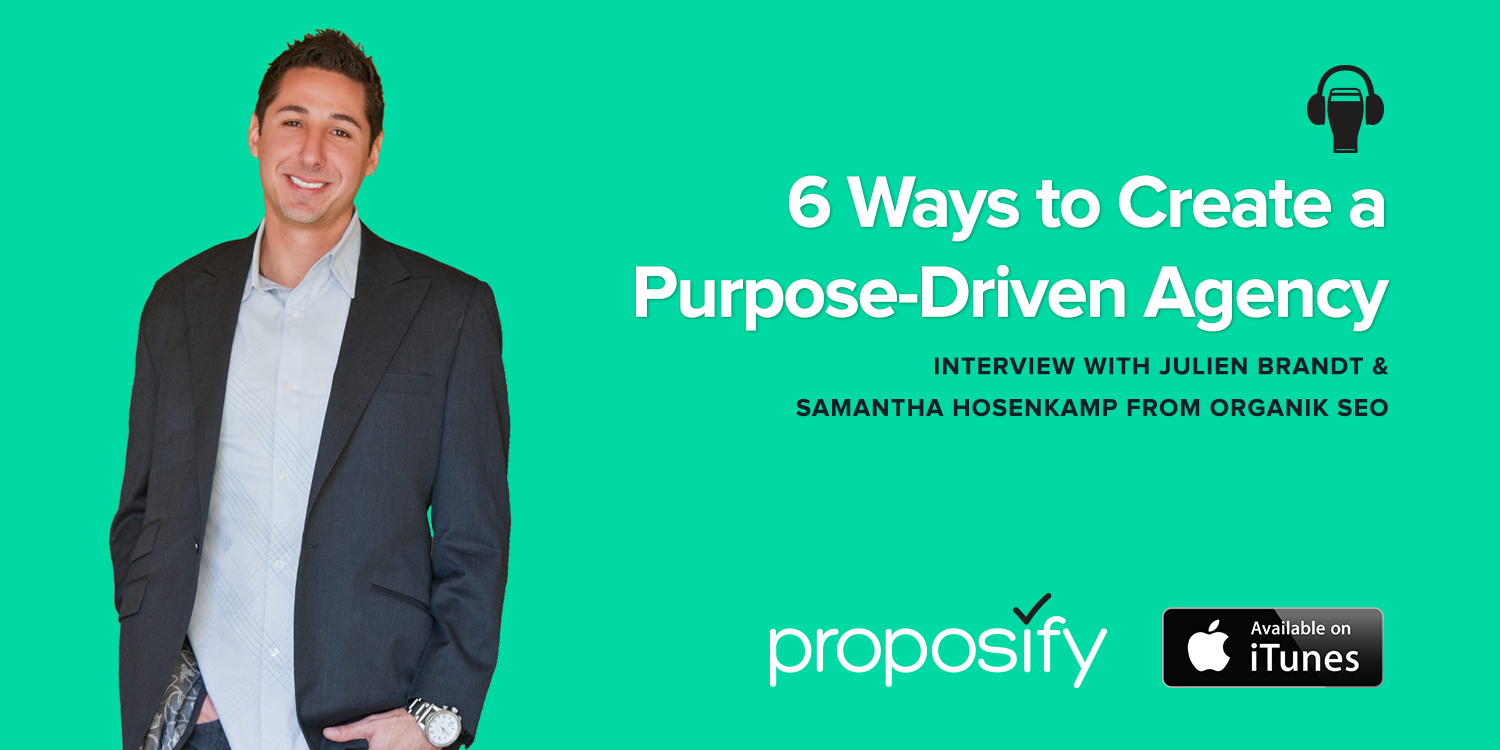 Agencies Drinking Beer Podcast Episode 4: 6 Ways to Create a Purpose-Driven Agency