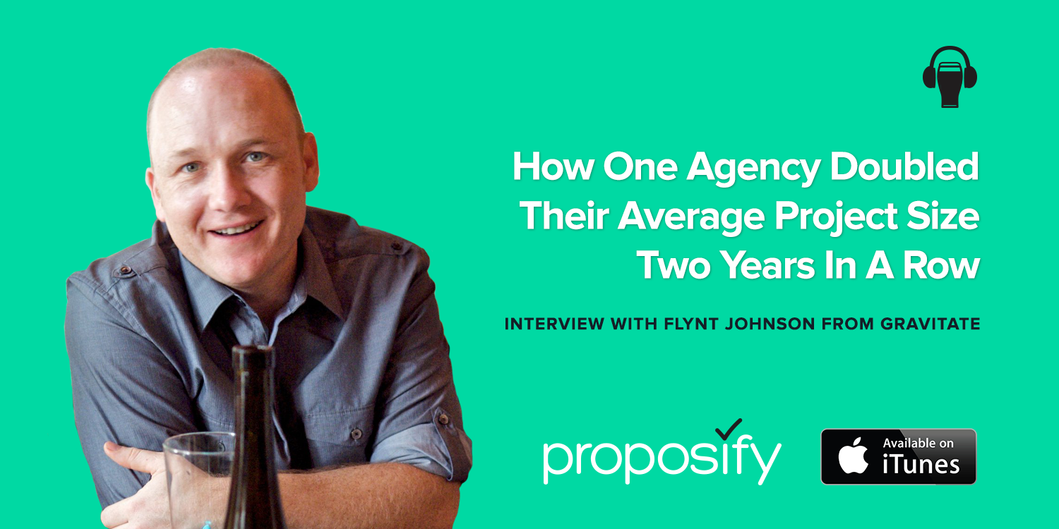 Agencies Drinking Beer Podcast Episode 5: How One Agency Doubled Their Average Project Size Two Years in a Row