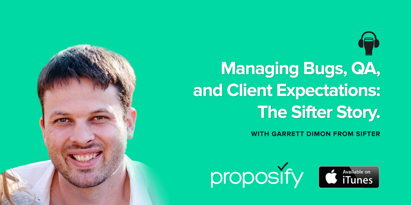 Agencies Drinking Beer Episode 29: Managing Bugs, QA and Client Expectations - The Sifter Story