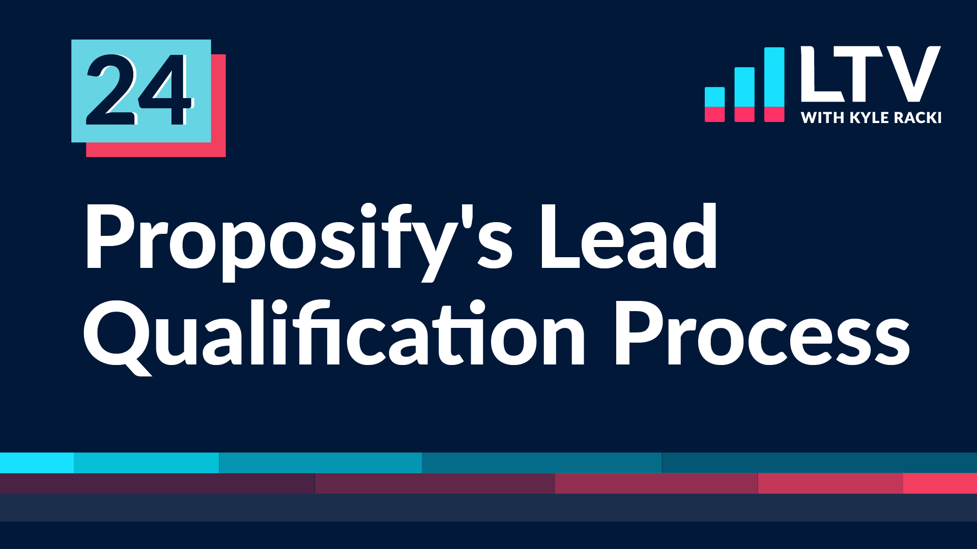 LTV Podcast Episode 24: Proposify's Lead Qualification Process