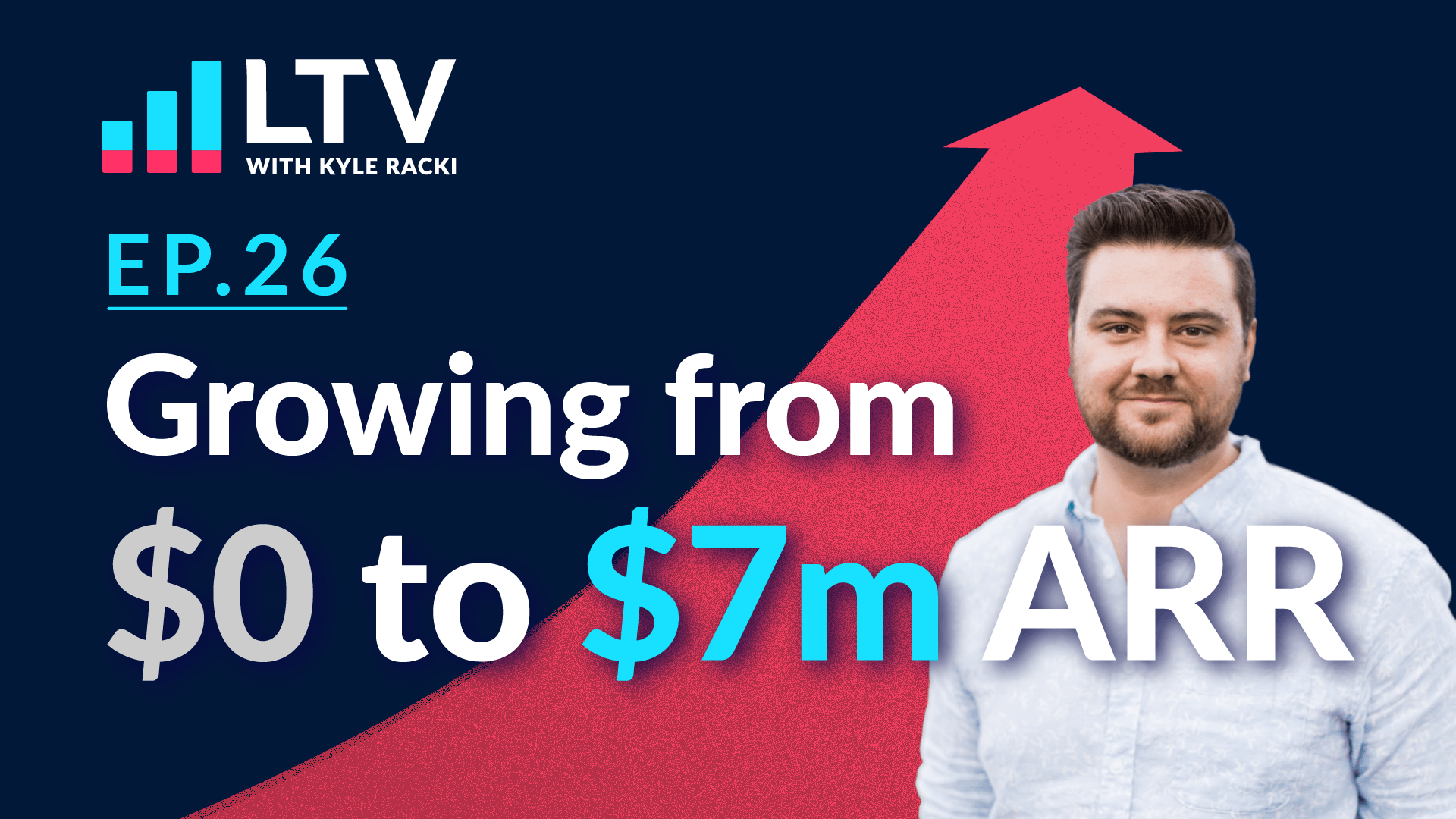 LTV Podcast episode 26: Growing from $0 o $7m ARR