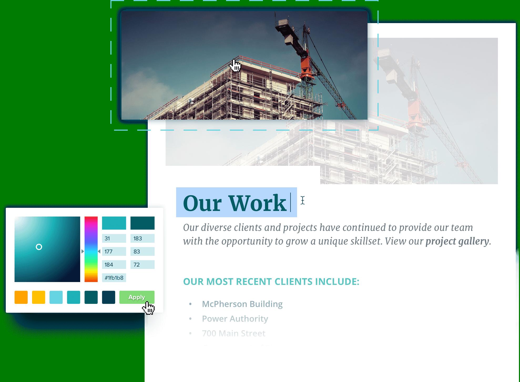 construction proposal software design editor