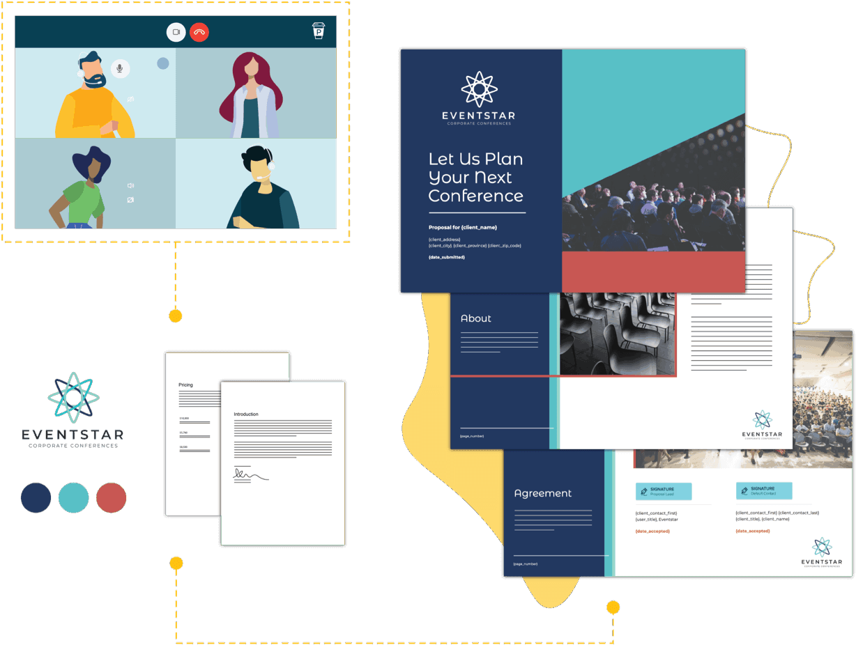 professional services custom proposal template