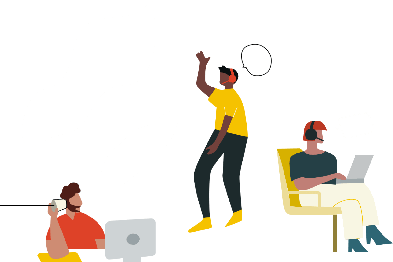sales team background