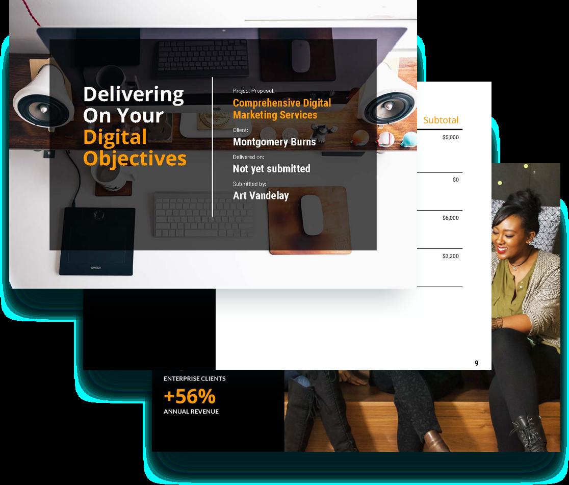 free digital marketing proposal template