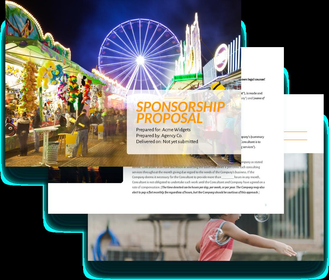 free sponsorship proposal template