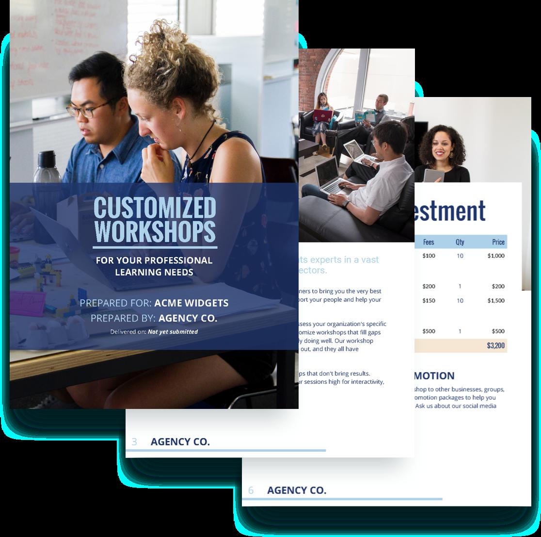 free workshop proposal templates