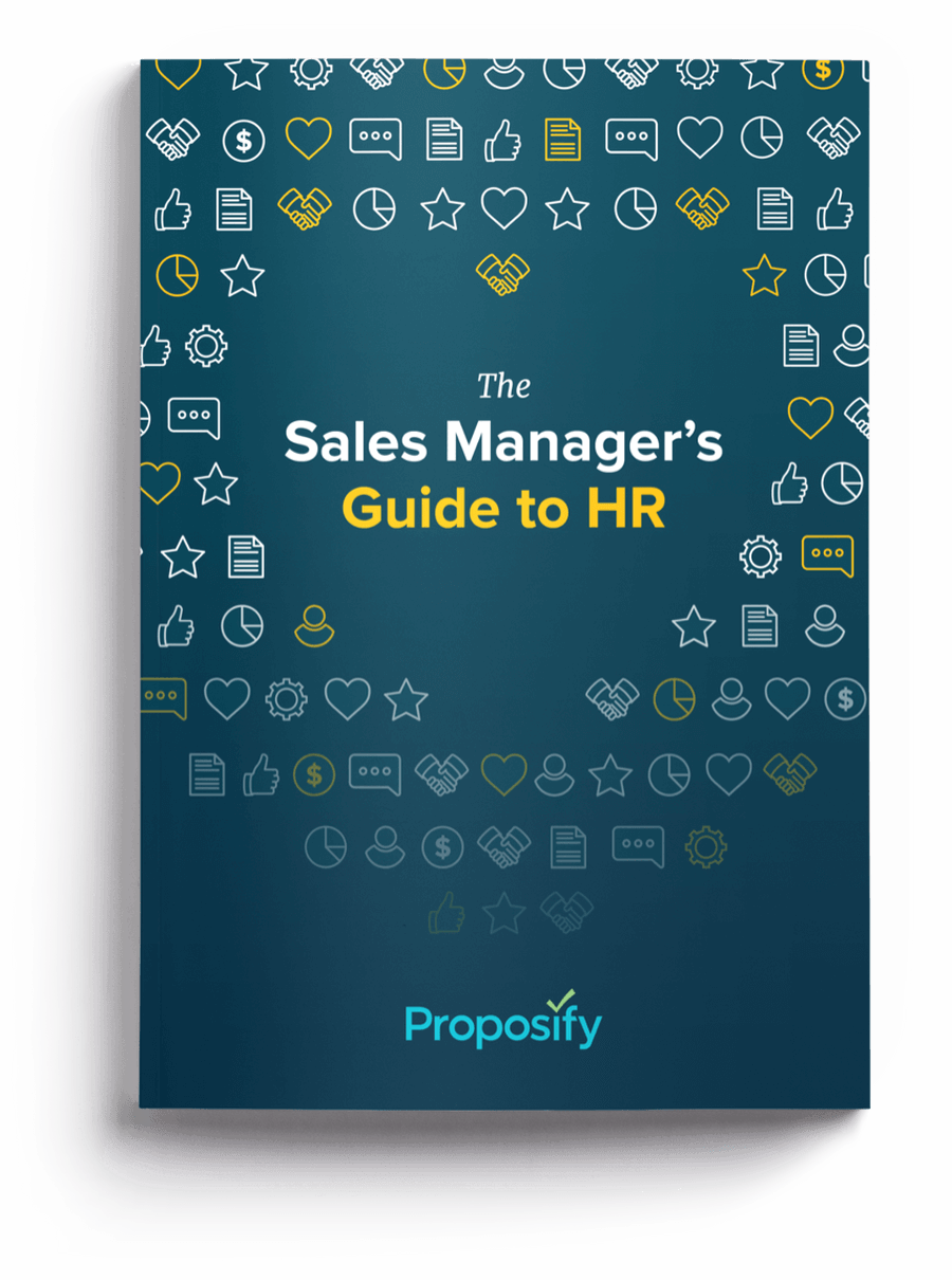 sales manager guide to hr cover