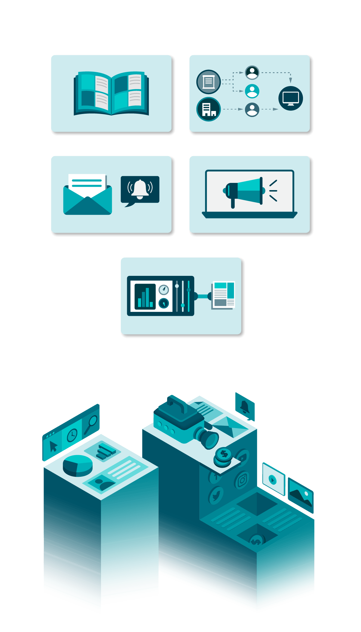 state of proposals digital advertising isometric