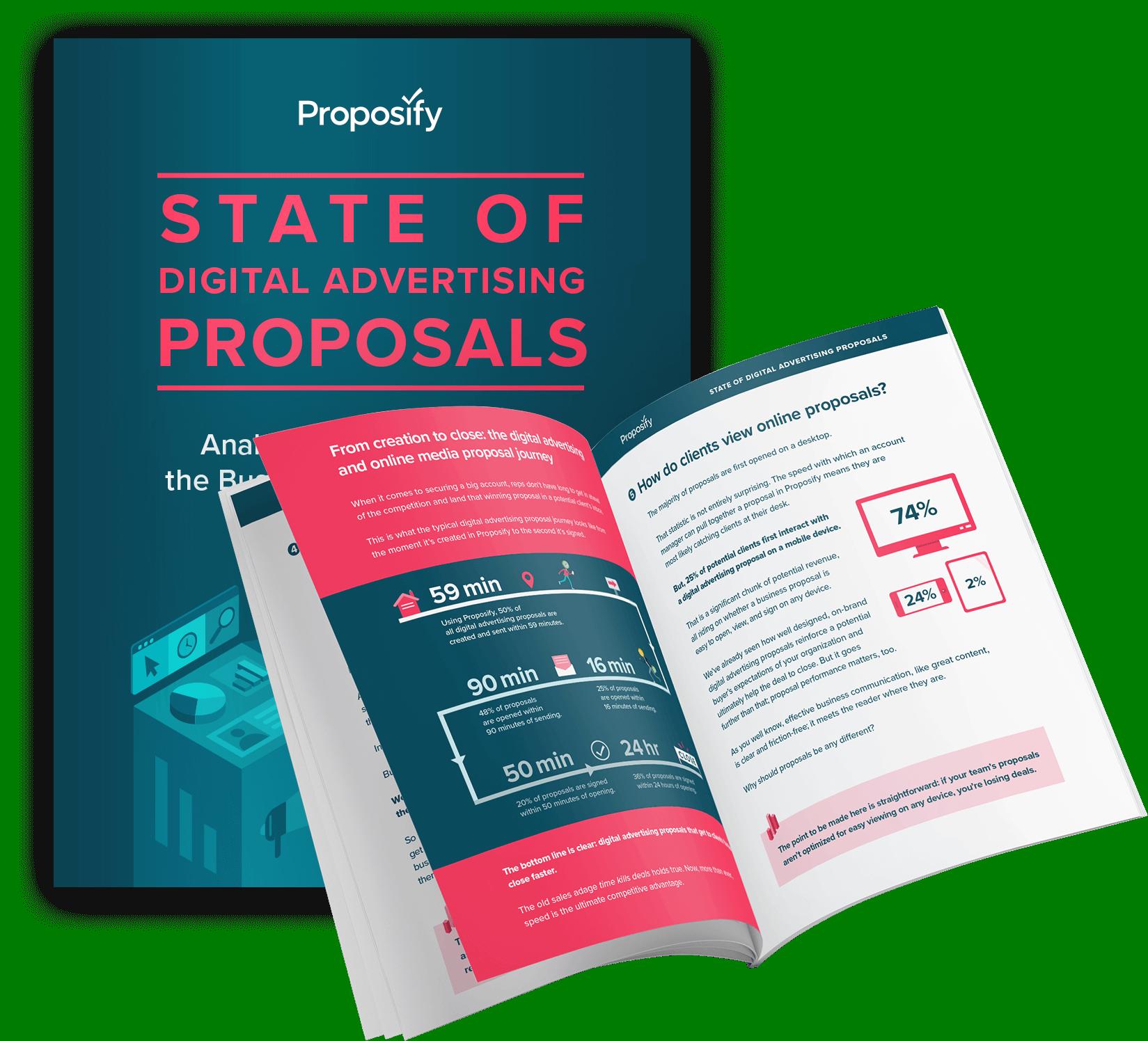 state of proposals digital advertising mockup