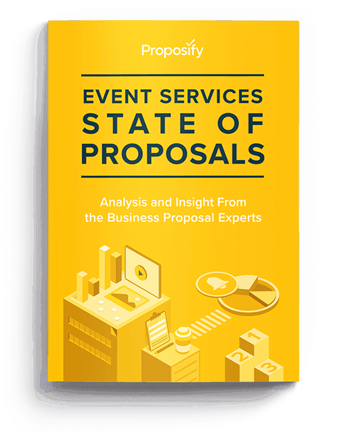 event services state of proposals cover