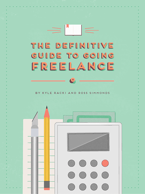 the definitive guide to freelance cover