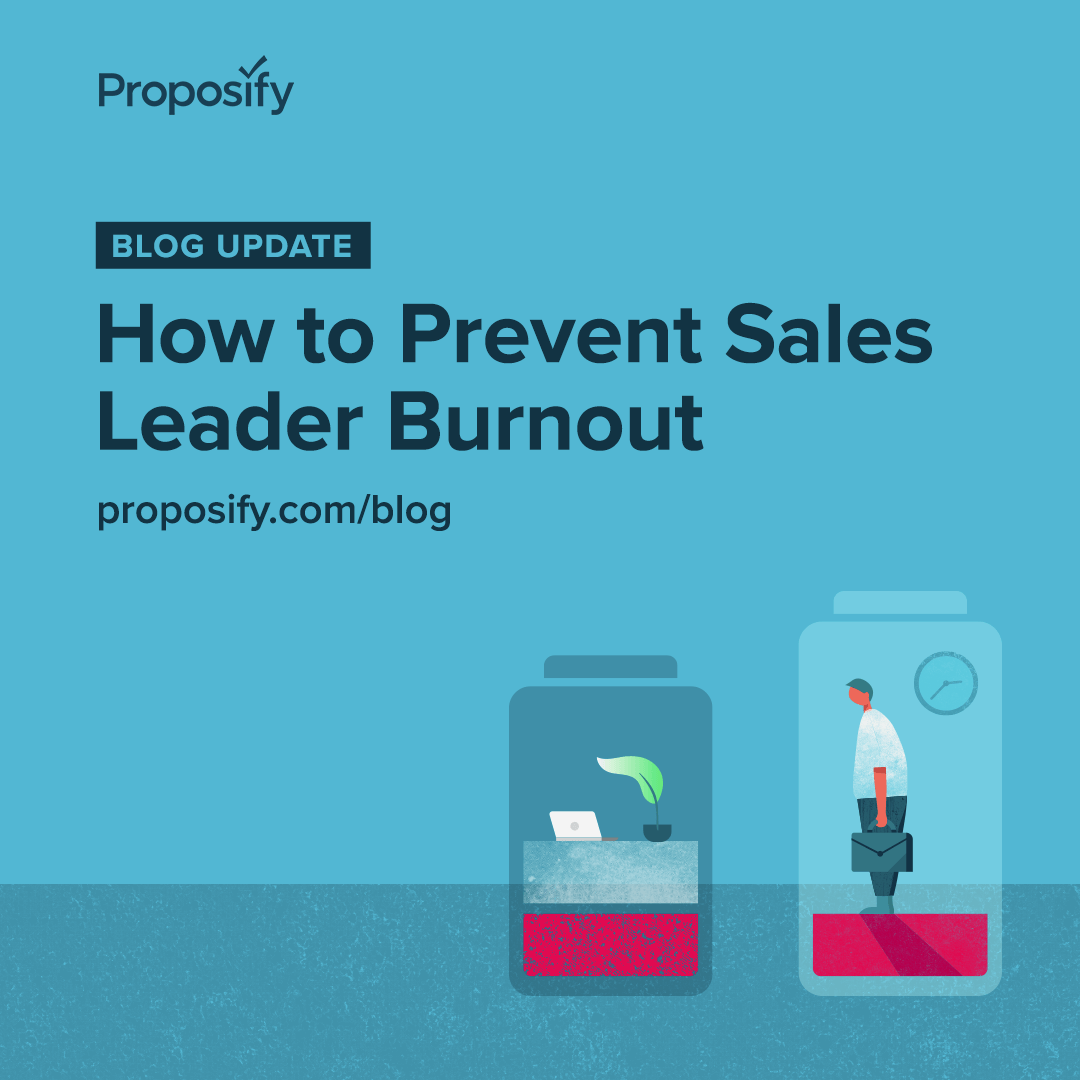Blog Update: How to Prevent Sales Leader Burnout