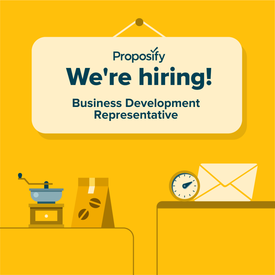 We're Hiring: Business Development Representative
