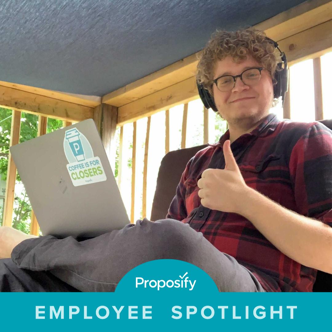 proposify's employee spotlight sam