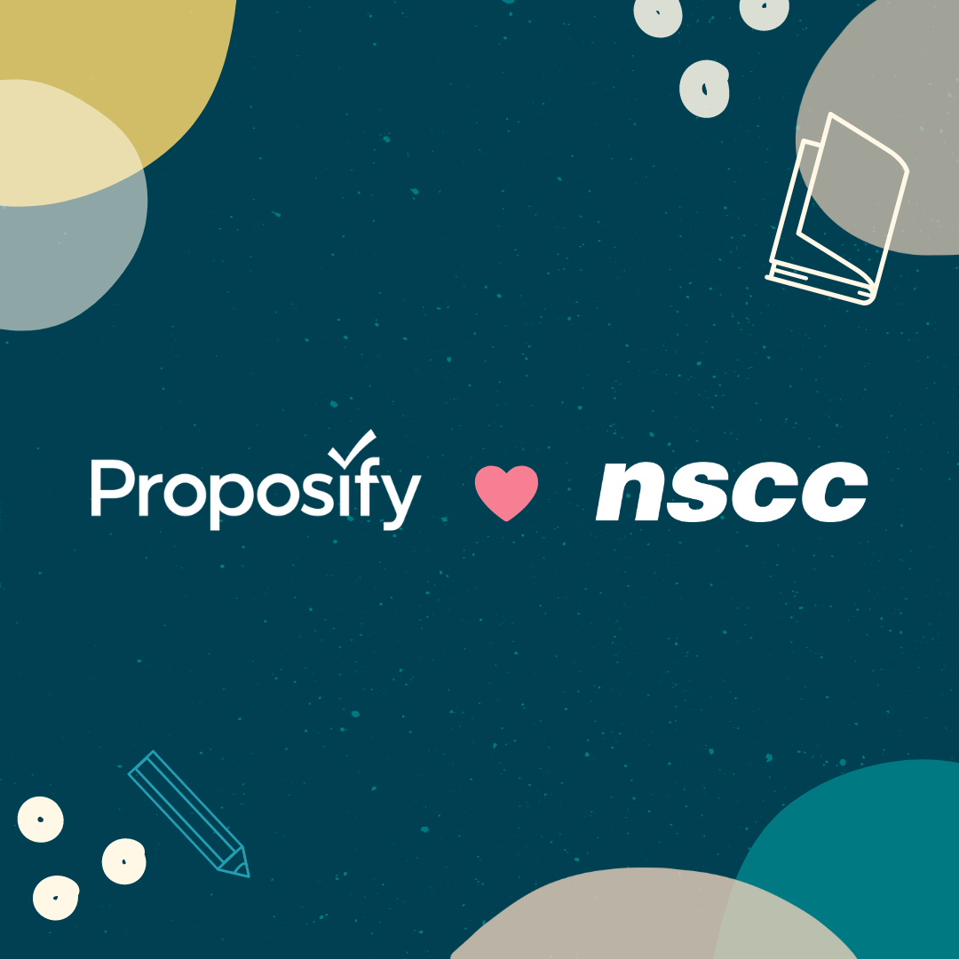 Proposify Student Award for NSCC Students in Nova Scotia